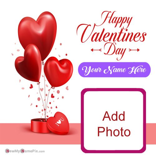 Lover Name & Photo Valentines Day Romantic Pictures Send