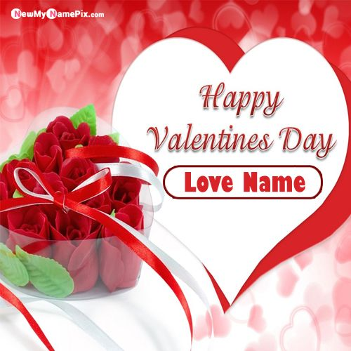 Personal Name Write Happy Valentines Day Images Download Free