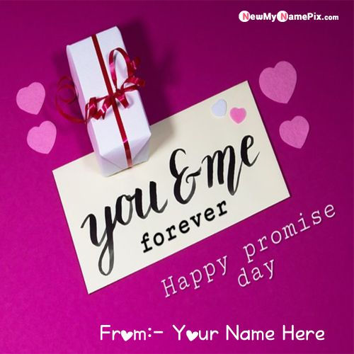 Beautiful Promise For Lover Name Pictures Download