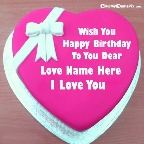 Best love you cake for lover birthday wishes profile pictures download