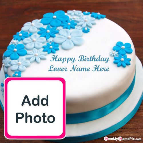 Astounding Beautiful Happy Birthday Cake For Love Name And Photo Edit Funny Birthday Cards Online Fluifree Goldxyz