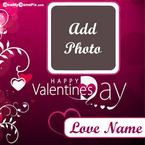 Name And Photo Add Valentines Day Special Wishes Wallpapers Download Free