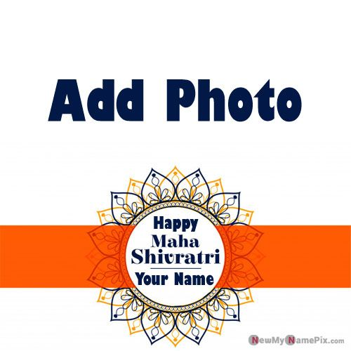 Happy Shivratri Wishes Profile Your Photo Add Image