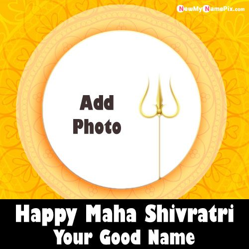 Make Photo Frame Mahadev Shivratri Wishes Pics