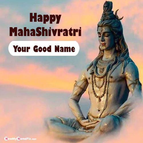 Create Your Name Pictures MahaShivratri Festival Wishes Free