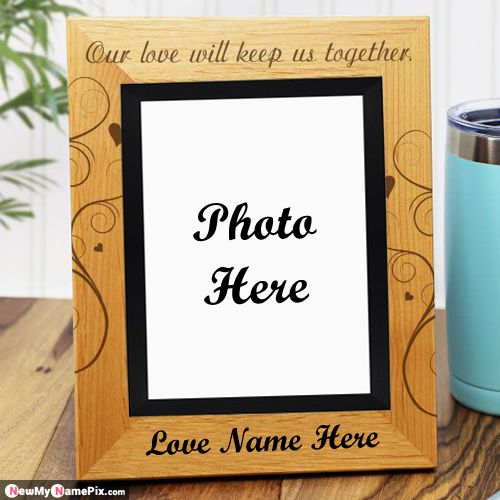 Love Photo Frame Edit Couple Name Images Download