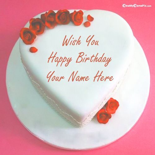 Special happy birthday cake wishes images with name writing pic