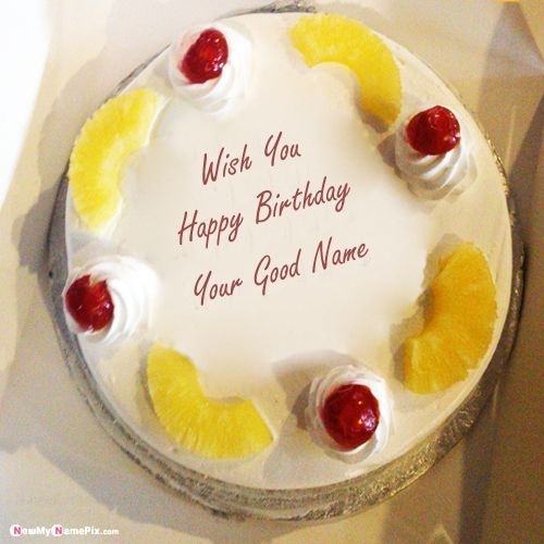 Name wishes latest birthday cake images download online free