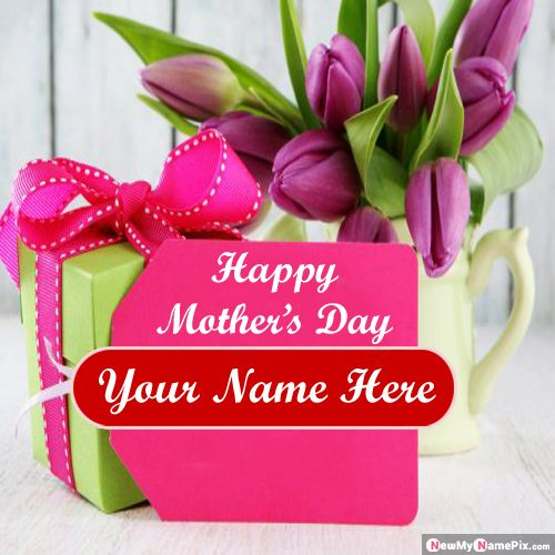 2020 Best Happy Mother's Day Wishes Image With Name Card