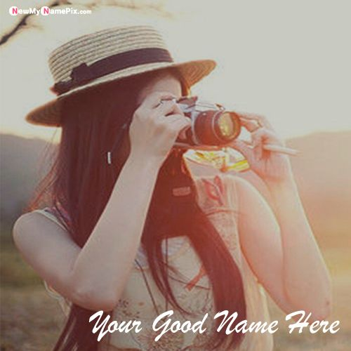 Stylish Girl Profile With Name Write Pictures Download Free