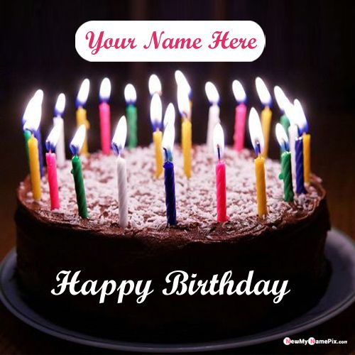 Prime Write Name On Birthday Cake Greeting Cards Maker Profile Pics Personalised Birthday Cards Rectzonderlifede