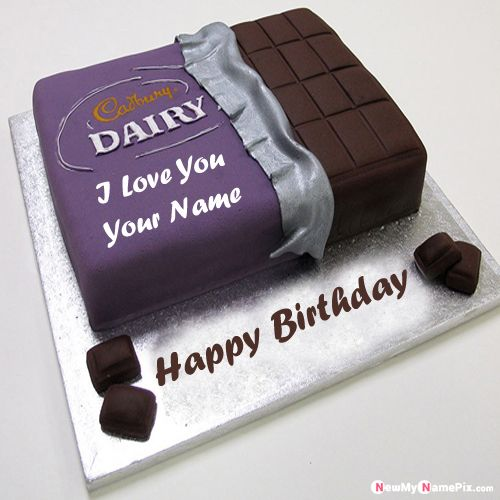 Online my love name writes on birthday wishes cake best collection pictures