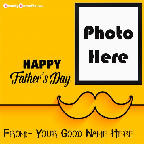 Special Happy Fathers Day Wishes Pictures On Name With Photo