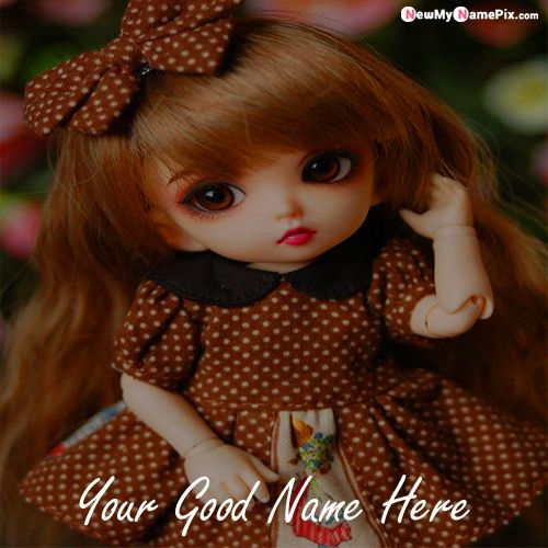 Beautiful Doll Profile Image With Name Writing Pictures