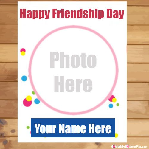 Friends forever photo add wishes friendship day images