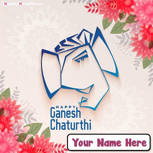 Create name ganesh chaturthi wishes whatsapp status send free online