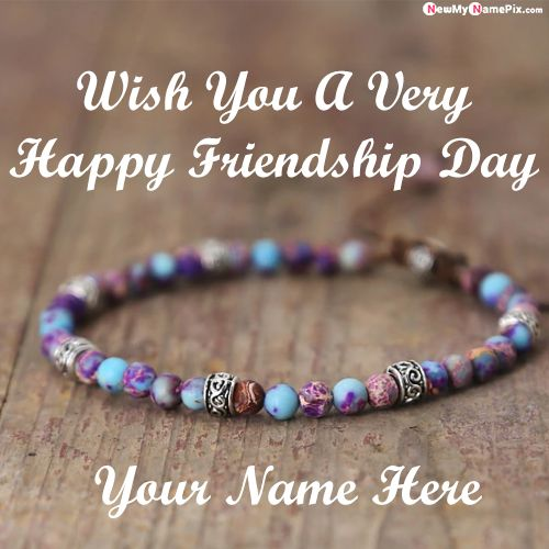 Unique name generator friendship day bracelet photo download