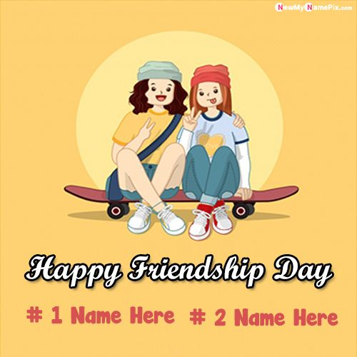 Latest best collection friendship wishes name writing images