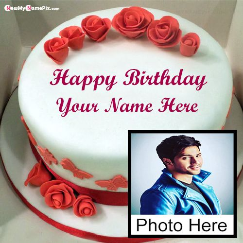 Birthday Cake For Special Name And Photo Wishes Images