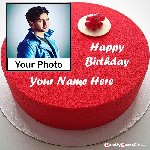Birthday Photo Frame Wishes Cake With Name Pictures