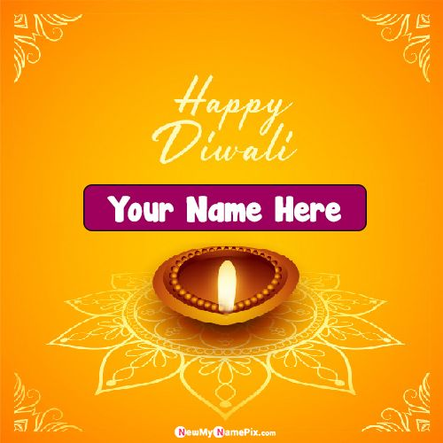 Diwali Wishes 2020 Beautiful Pictures Write Name Online