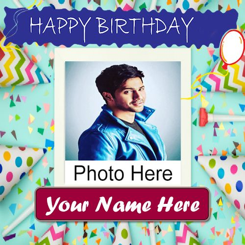 Birthday Photo Frame Wishes Images With Name