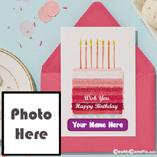 Happy Birthday Wishes With Photo And Name Pic