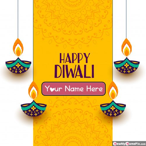 Special Your Name Write On Happy Diwali Pictures
