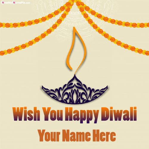 Happy Diwali Wishes Best Images With Wife Name