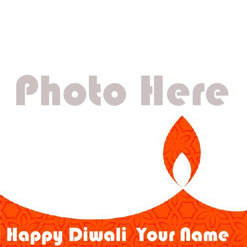 2020 Best Collection Happy Diwali Frame With Name Wishes