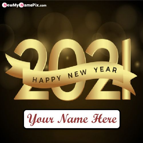 New Year 2021 Blessing Quotes Images With Name Wishes Pics
