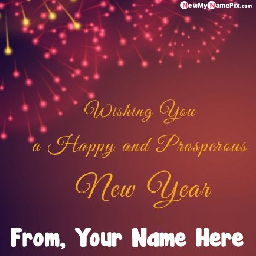 Make Your Name On New Year 2021 Message Pic Editor Free